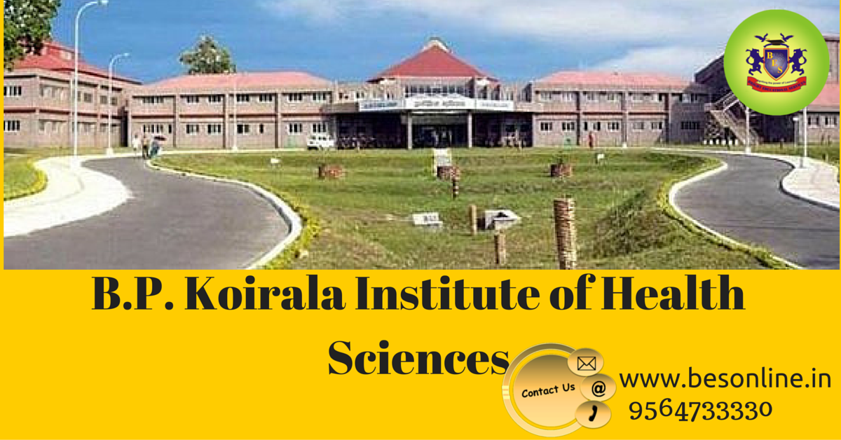 B.P. Koirala Institute admission 2016
