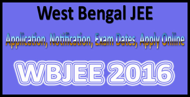 West-Bengal-JEE-2016-Notification-Online-Application-Form