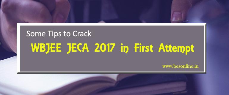 to Crack WBJEE JECA 2017