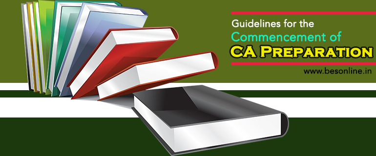 Guidelines for CA Preparation