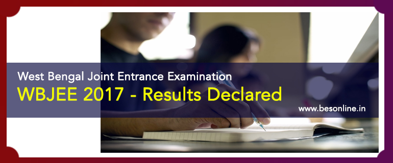 West Bengal Joint Entrance Examination Results Declared