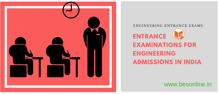 Entrance Examinations for Engineering Admissions in India