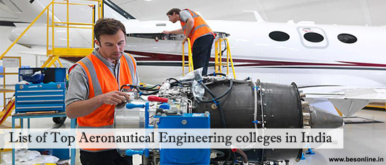 Aerospace Engineering Colleges >> List Of Top Aeronautical Engineering Colleges In India