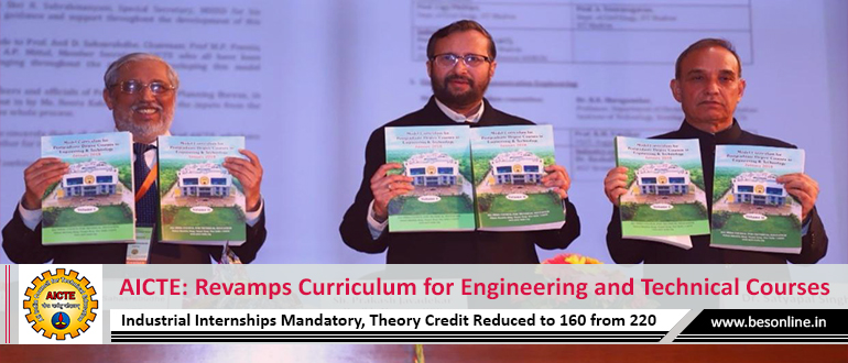 AICTE: Revamps Curriculum for Engineering and Technical Courses