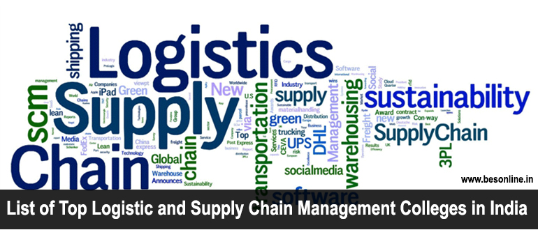 List of Top Logistic and Supply Chain Management Colleges in India