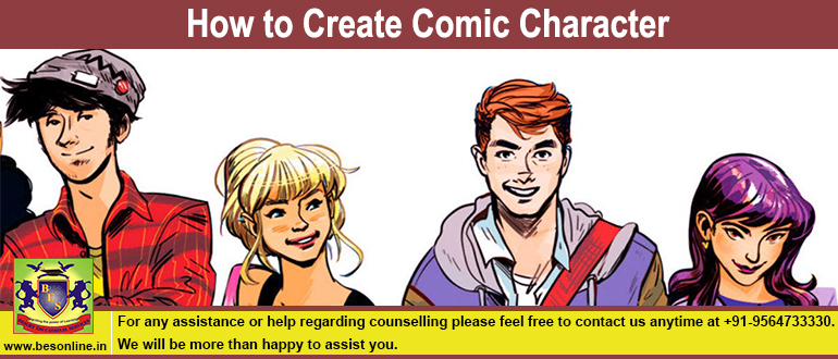 How to Create Comic Character