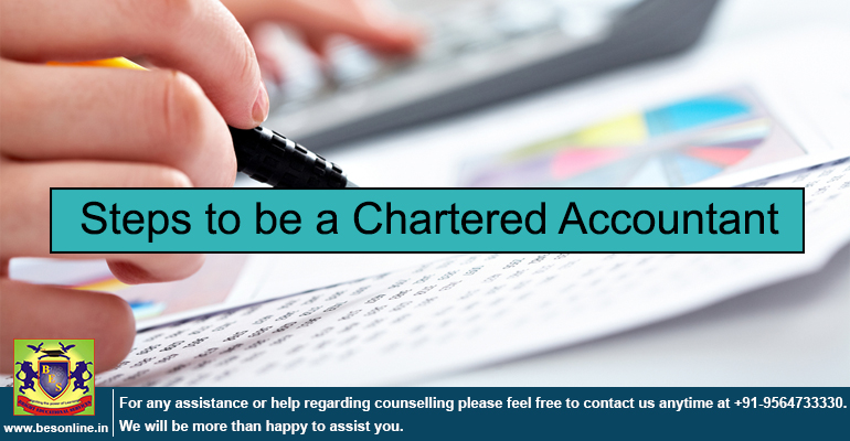 Steps to be a Chartered Accountant