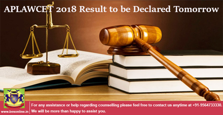 APLAWCET 2018 Result to be Declared Tomorrow