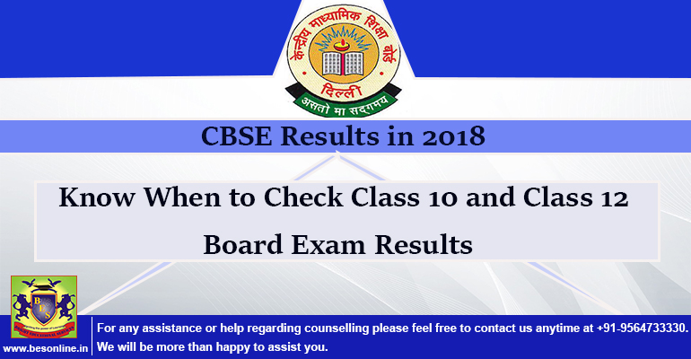 CBSE Results in 2018