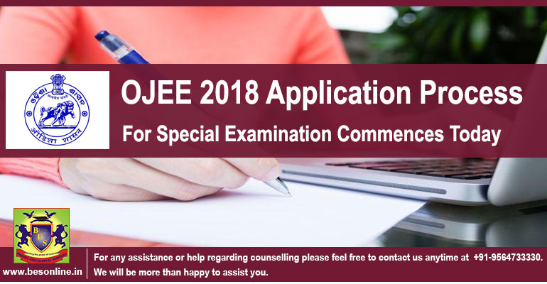Ojee 2018 Application Process For Special Examination Commences Today Bright Educational Services