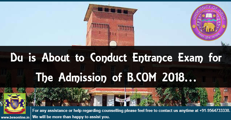 Du is about to conduct entrance exam for the admission of B