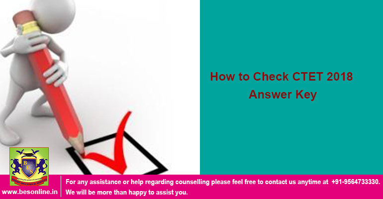 How to Check CTET 2018 Answer Key