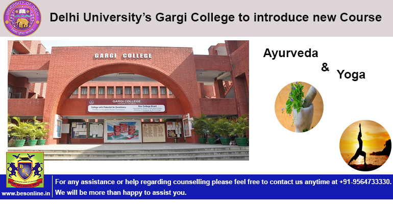 Delhi University's Gargi College to introduce new Course Ayurveda & Yoga