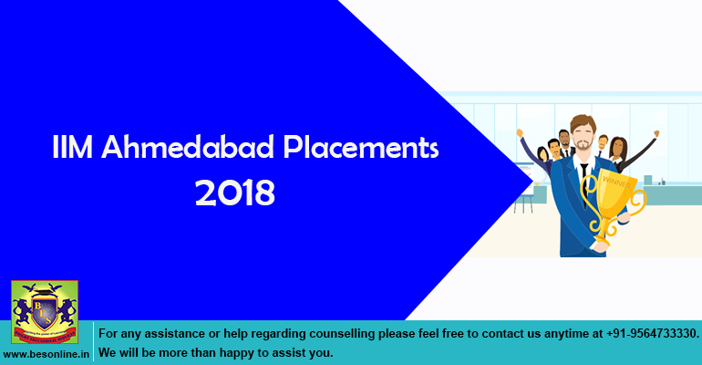 IIM Ahmedabad Placements 2018