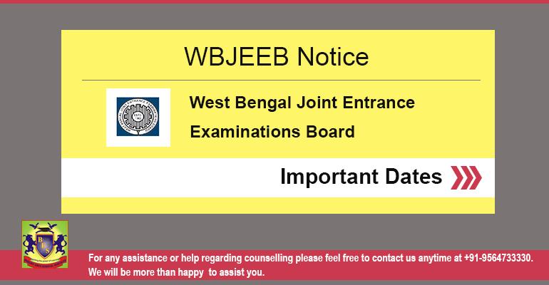 WBJEEB Entrance Exams