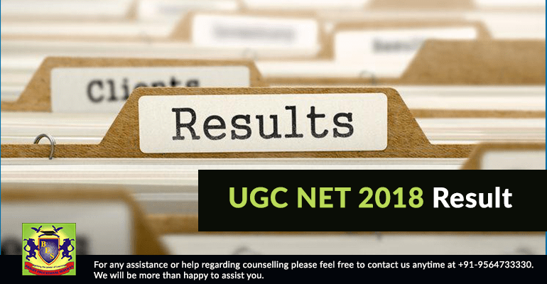 UGC NET 2018 Result will be Released on 10 Jan 19