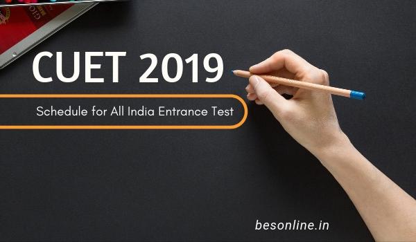 Christ University Entrance Test (CUET) 2019 - Important Dates
