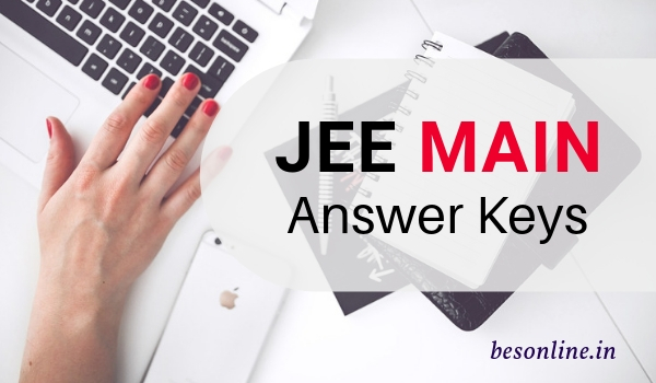 download answer key of jee 2019