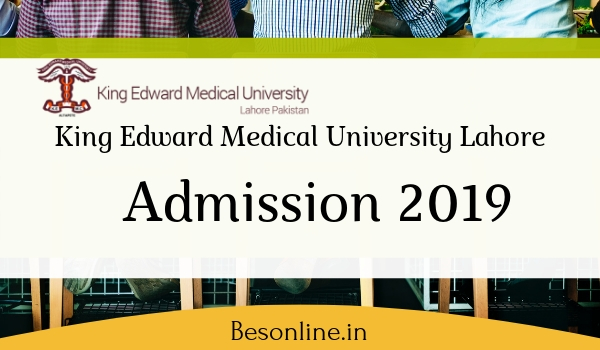 King Edward Medical University Lahore MS MD MDS 2019 - Notification Out!