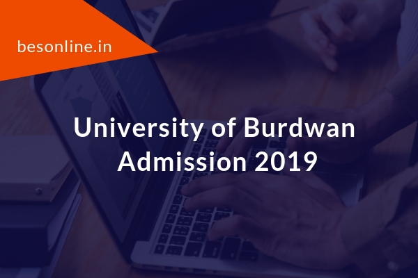 University of Burdwan Certificate, Diploma Admission 2019-20