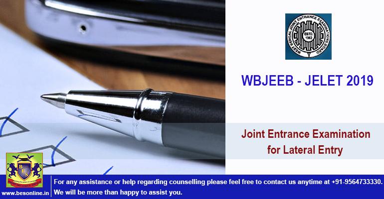 WBJEEB JELET 2019 : Application Form, Exam Date Details!