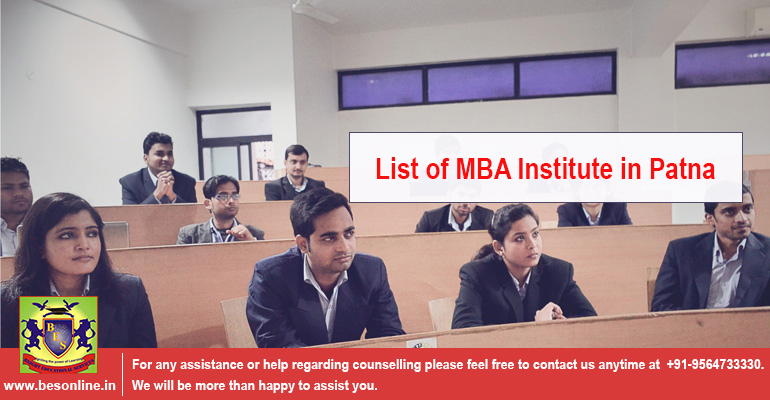List of MBA Institute in Patna
