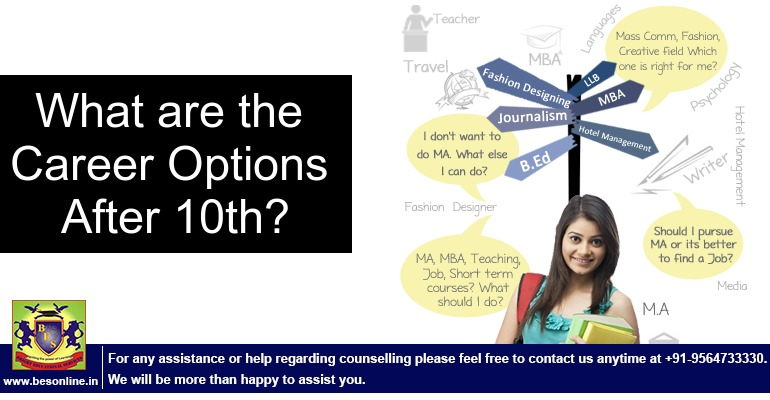 Courses Career After Class 10 What Are The Career Options After 10th Standard Bright Educational Services