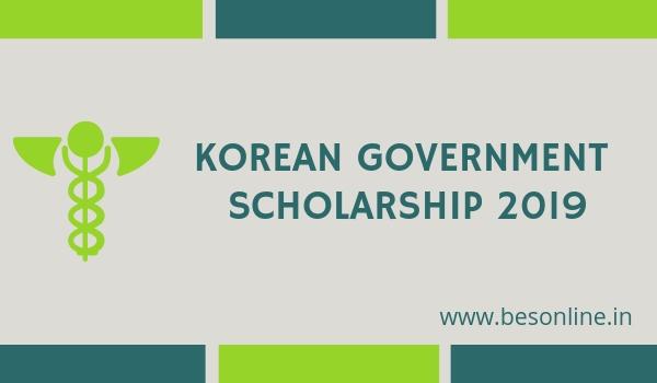 Korean Government Scholarship Program (KGSP) 2019 - Notification