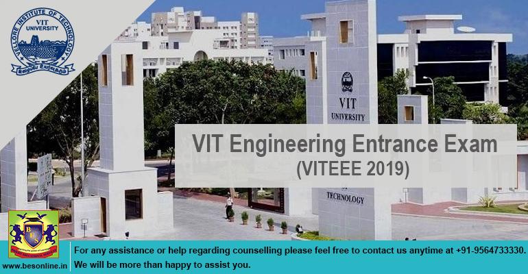 VIT Engineering Entrance Exam (VITEEE 2019)