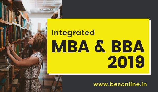 Nirma University Integrated BBA-MBA Admission 2019