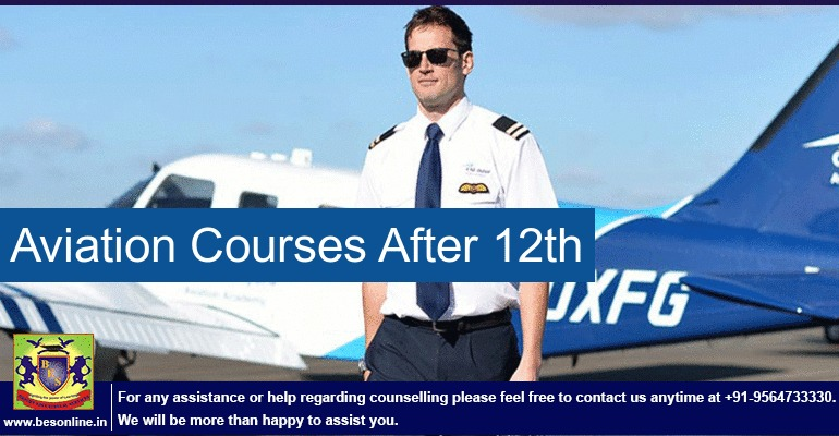 Aviation Courses After 12th for Art/Science/Commerce