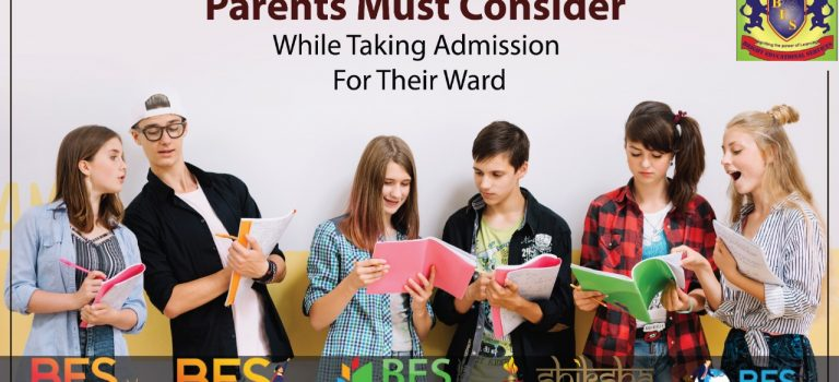 What are the points that parents should keep in mind before taking admission in any college for their ward?