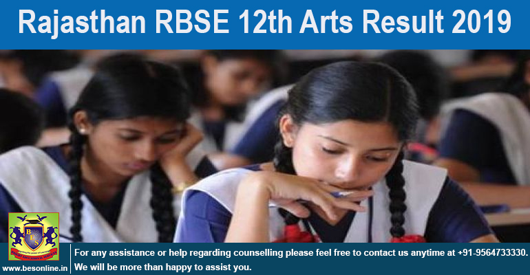RBSE 12th Result 2019 Announced; Check @ rajresults.nic.in!