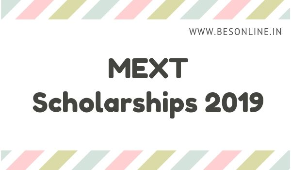 MEXT Scholarships 2019 for Foreign Research Students in Japan