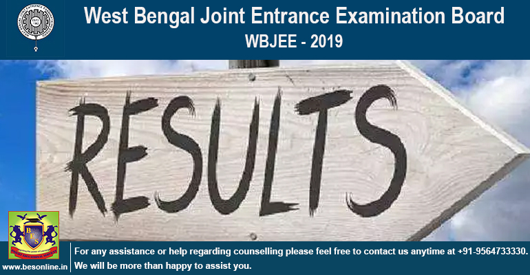 WBJEE 2019 Result Declared @wbjeeb.nic.in; Check the Score Details!