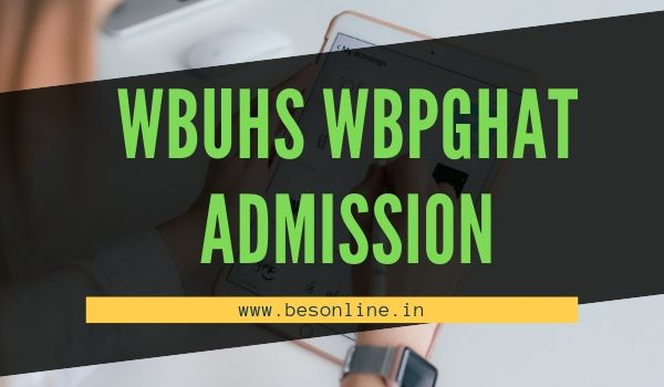 WBUHS Kolkata Post Basic BSc Nursing and MSc Nursing