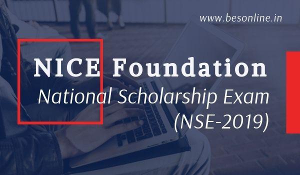 NICE NSE 2019 – National Scholarship Examination