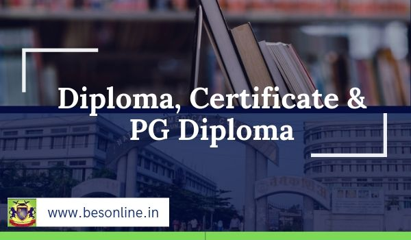 Banaras Hindu University Diploma, Certificate & PG Diploma