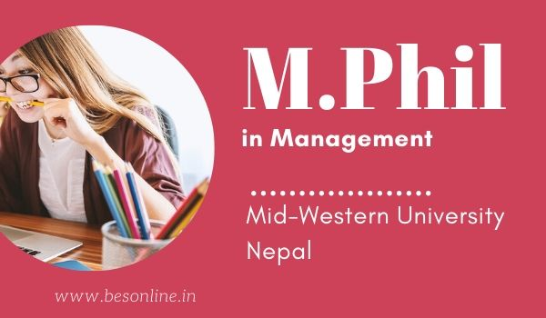 Mid Western University Mphil In Management Admission 2020