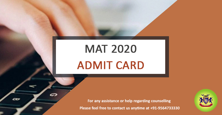 MAT 2020 PBT Mode Admit Card Released; How to Download