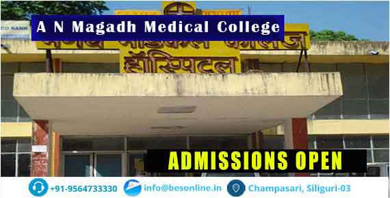 A N Magadh Medical College Courses