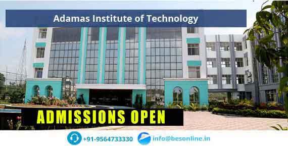 Adamas Institute of Technology Facilities