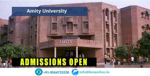 Amity University Admissions