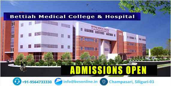Bettiah Medical College and Hospital Admission
