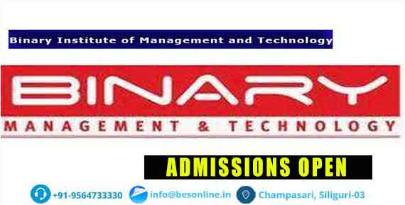 Binary Institute of Management and Technology Admissions