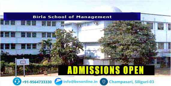 Birla School of Management Admissions