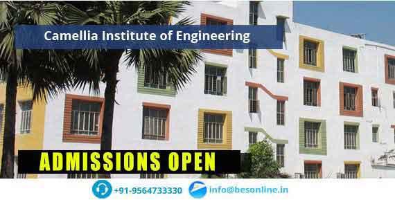Camellia Institute of Engineering Entrance Exam Schedule