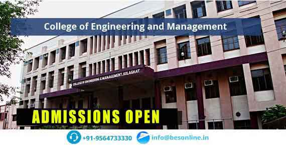 College of Engineering and Management Admissions