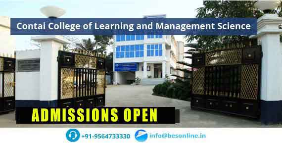Contai College of Learning and Management Science Admission