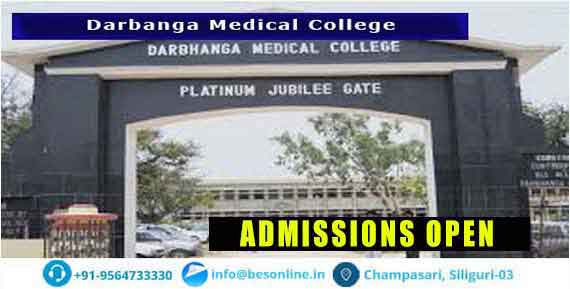 Darbhanga Medical College Admission